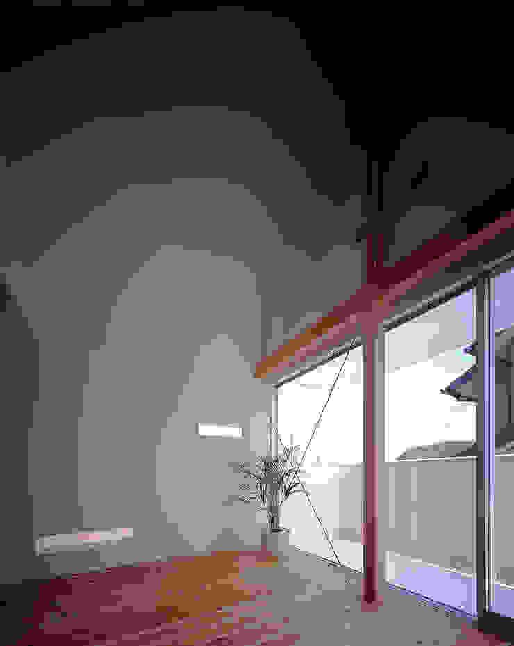 ¬(サシガネの家) オリジナルスタイルの 寝室 の 岩本賀伴建築設計事務所 オリジナル