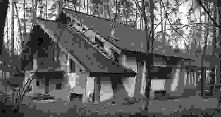 Охотничий дом 450 кв.м. от Remistudio Кантри