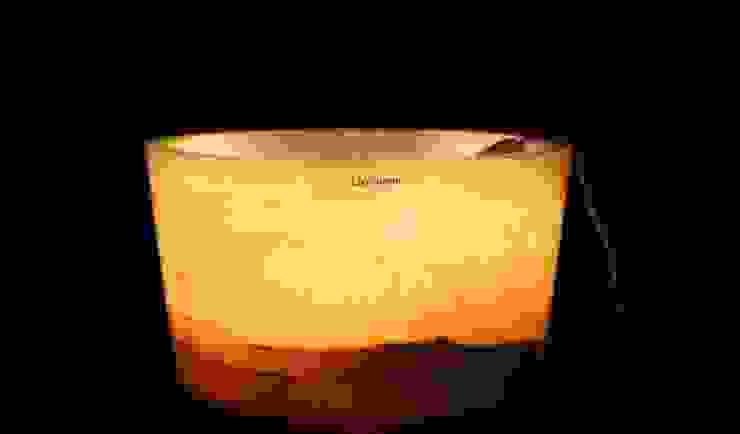 Umywalka z onyksu od Lux4home™ - podświetlony onyks od homify Nowoczesny Kamień