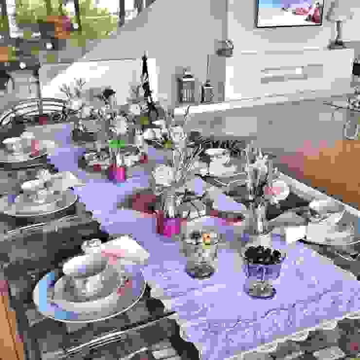 Dekorluk – Dekorluk şık masalar için runner:  tarz Yemek Odası,
