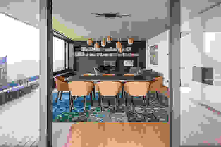 Wohnraum-Esszimmer Moderne Esszimmer von marte-huchler Modern