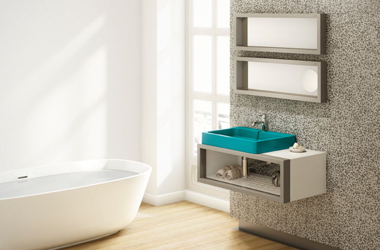 Lavabo TIPO sobre mueble CASCO- BO!NG de Boing Original Moderno