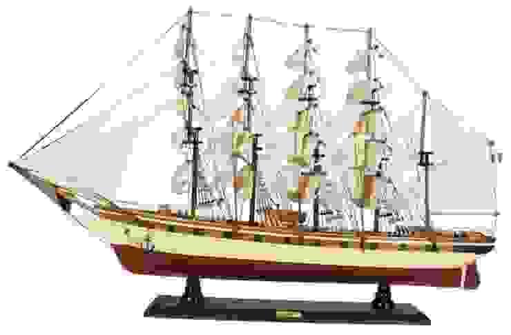 El Yapımı Ahşap Gemi Artist Hediyelik Akdeniz