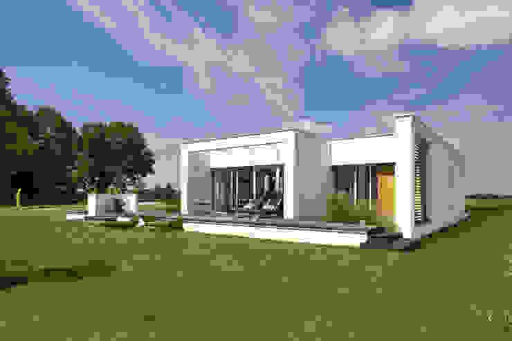 Дома в стиле минимализм от Architekci Łosiak_Siwiak Минимализм