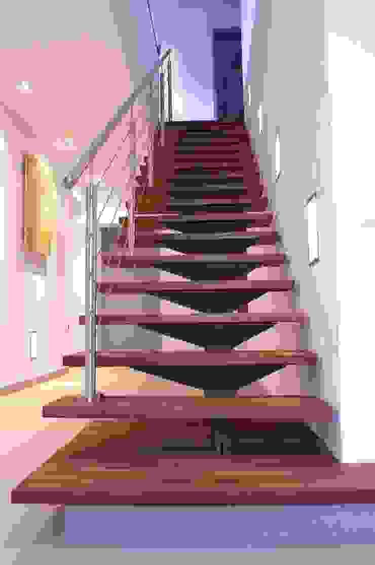 wirges-klein architekten Couloir, entrée, escaliers modernes