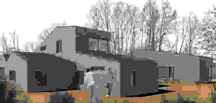 Casapanal Casas de estilo moderno de soma [arquitectura imasd] Moderno