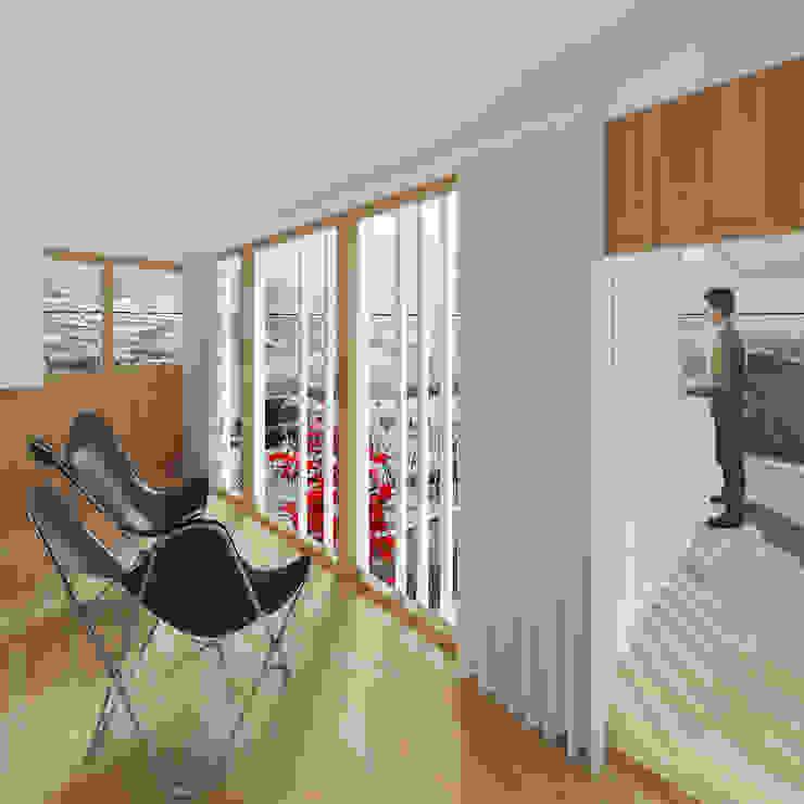 Churrasco House Puertas y ventanas de estilo moderno de soma [arquitectura imasd] Moderno