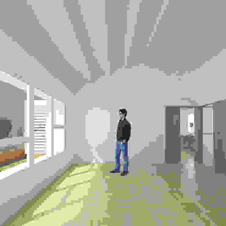 The Little House Salones de estilo moderno de soma [arquitectura imasd] Moderno