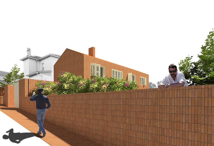 The Little House Casas de estilo moderno de soma [arquitectura imasd] Moderno
