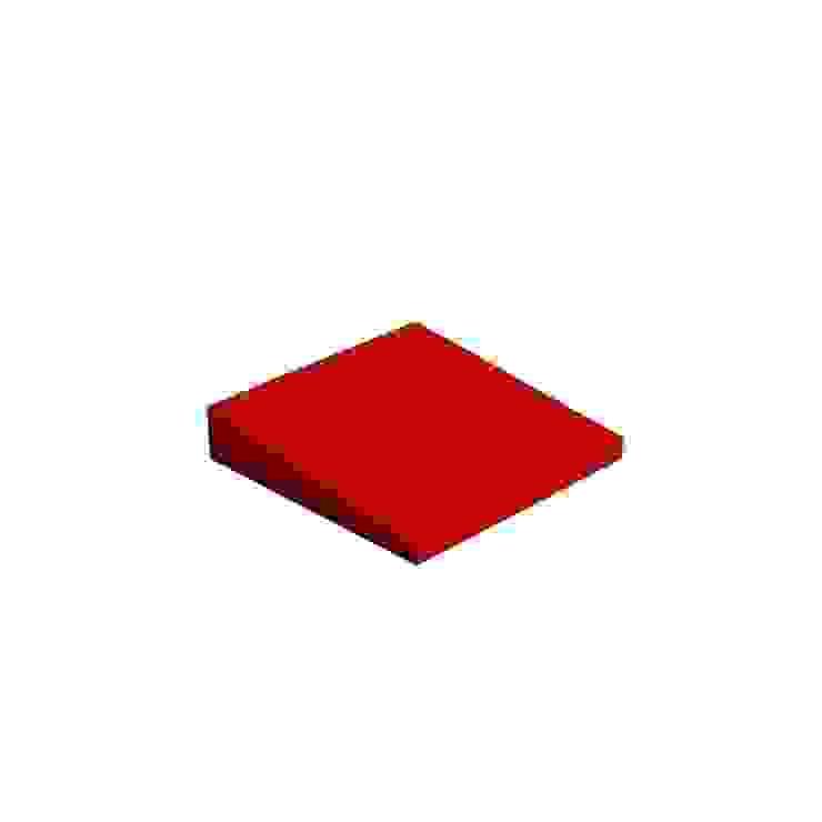 Cubic od FLUFFO fabryka miękkich ścian Nowoczesny
