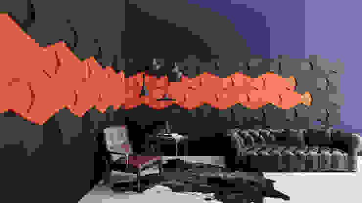 Chain od FLUFFO fabryka miękkich ścian Nowoczesny