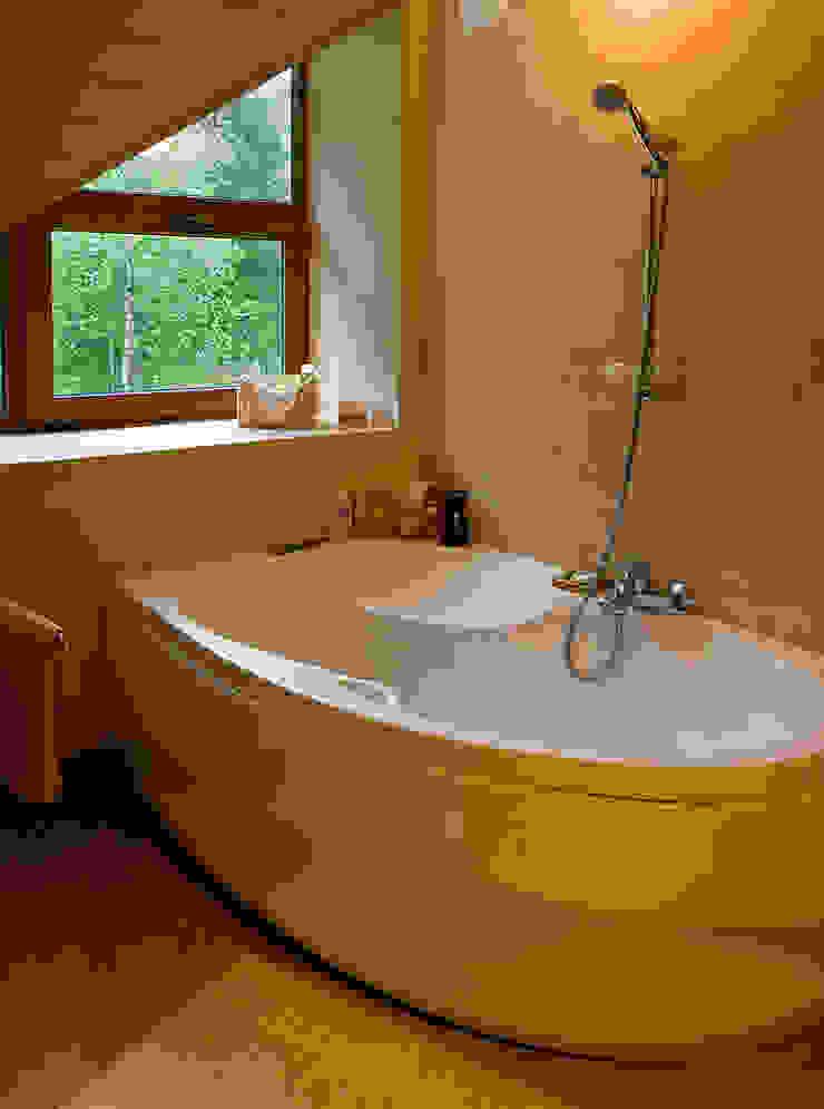 ванная от Remistudio Кантри