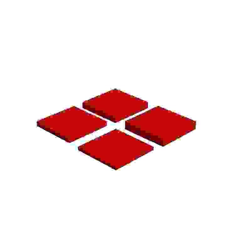 Pixel od FLUFFO fabryka miękkich ścian Nowoczesny