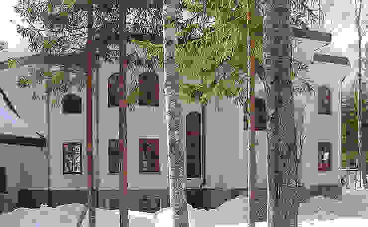 Особняк 1500 кв.м от Remistudio Эклектичный