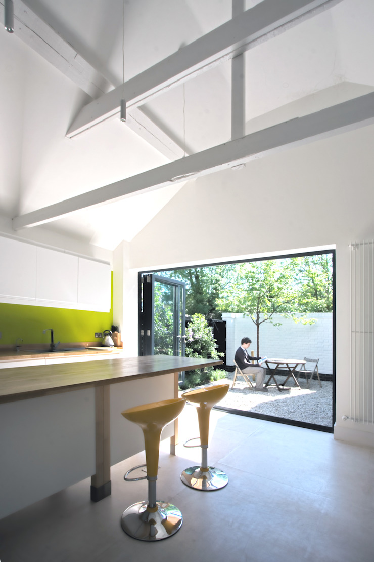The Nook Cocinas de estilo moderno de NRAP Architects Moderno