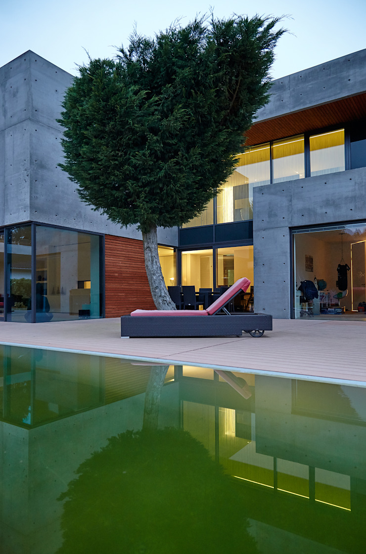 wirges-klein architekten Modern pool