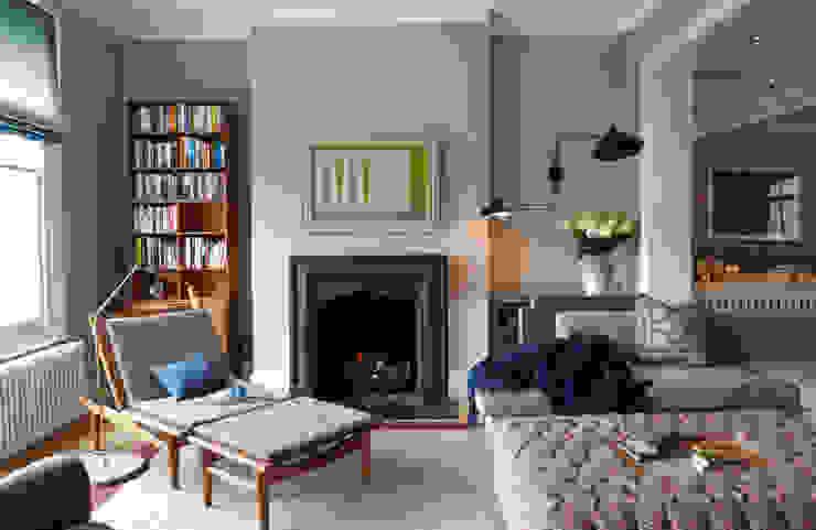 Living Room Soggiorno in stile scandinavo di homify Scandinavo