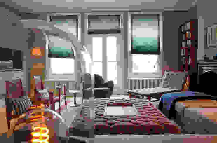Living Room Scandinavian style living room by homify Scandinavian