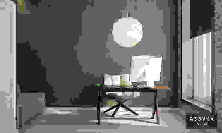Дань Великой Эпохе: Рабочие кабинеты в . Автор – Студия дизайна 'Азбука Дом'