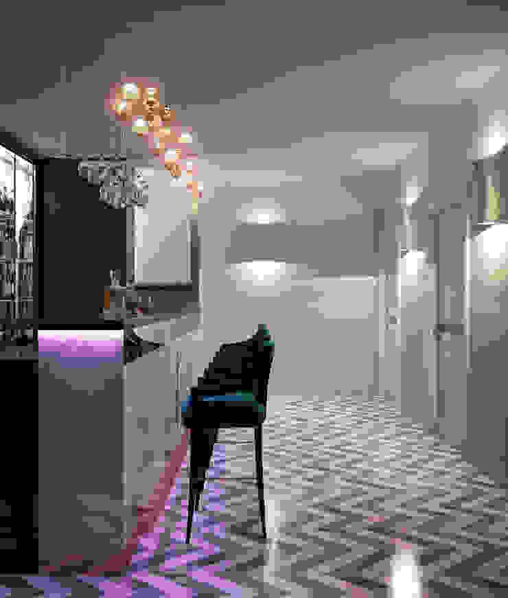 Бар в восточном стиле Медиа комнаты в эклектичном стиле от Sweet Home Design Эклектичный