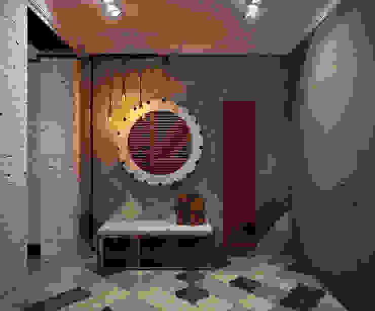Прихожая Коридор, прихожая и лестница в стиле лофт от Reroom Лофт