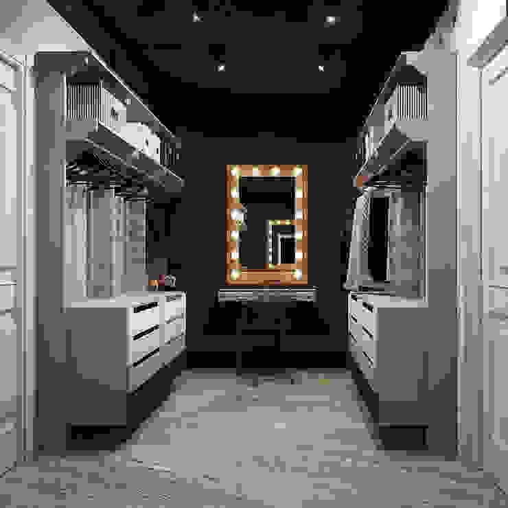Dressing room by Reroom, Industrial