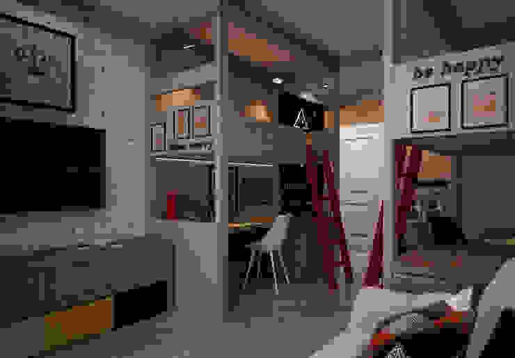 Детская Детская комната в стиле лофт от Reroom Лофт