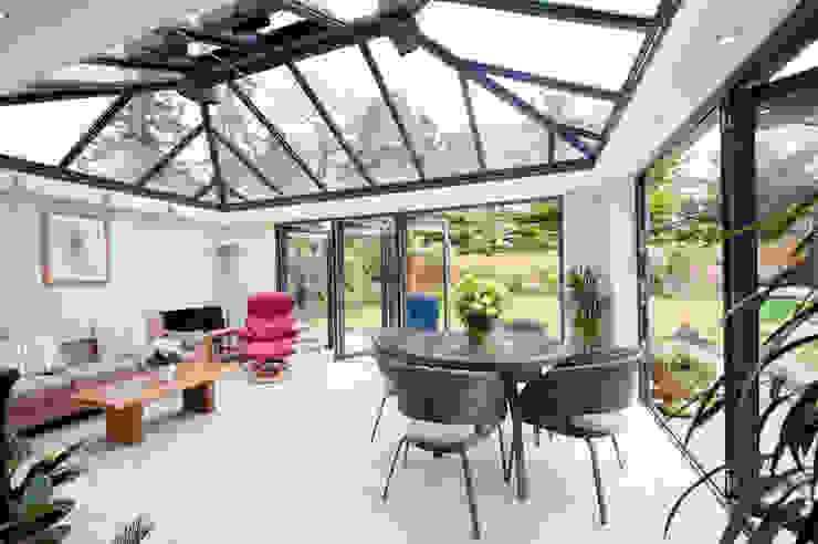 Modern Garden Room Giardino d'inverno moderno di homify Moderno