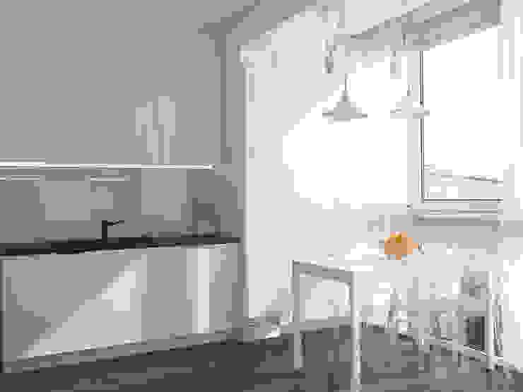 Корица с молоком Кухня в скандинавском стиле от Reroom Скандинавский