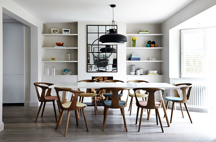 Dining room by Studio Duggan, Modern