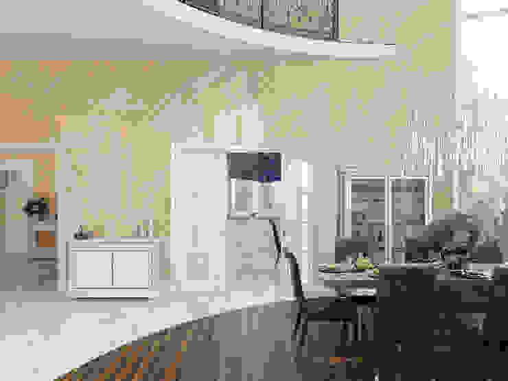 Дом в Павловске Гостиная в классическом стиле от Студия дизайна интерьера Маши Марченко Классический