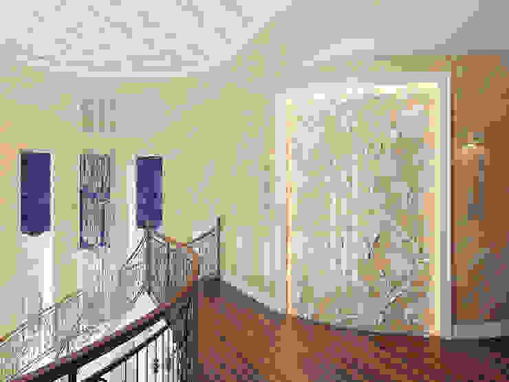 Дом в Павловске Коридор, прихожая и лестница в классическом стиле от Студия дизайна интерьера Маши Марченко Классический