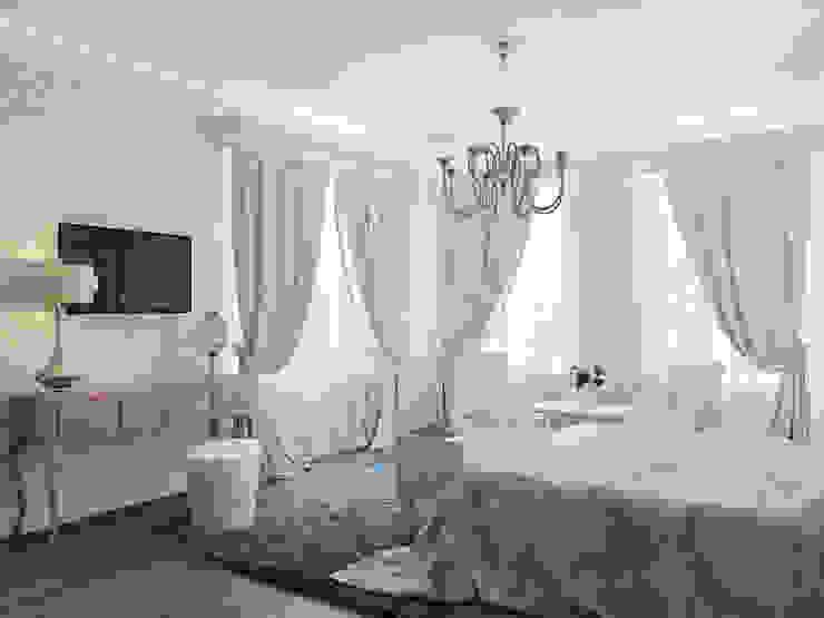 Дом в Павловске Спальня в классическом стиле от Студия дизайна интерьера Маши Марченко Классический