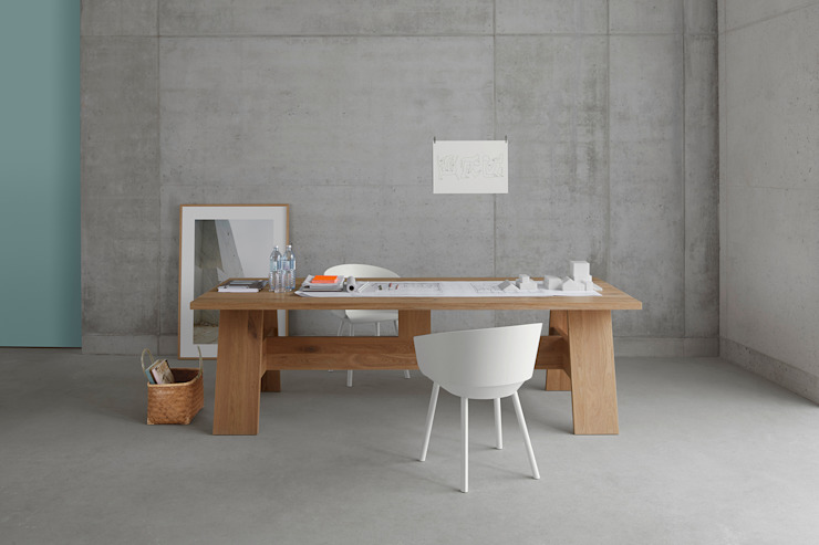 Table FAYLAND Modern Study Room and Home Office by e15 Modern