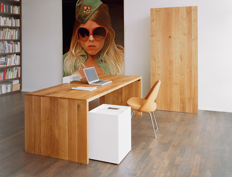 Table PONTE Modern Study Room and Home Office by e15 Modern