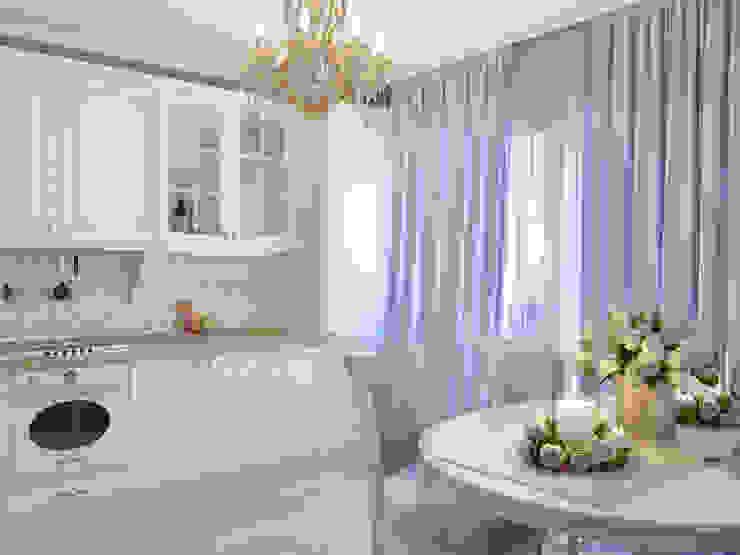 مطبخ تنفيذ Студия дизайна интерьера Маши Марченко,