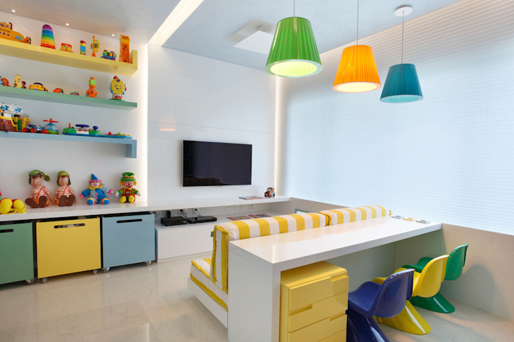 Детская комната в стиле модерн от Leila Dionizios Arquitetura e Luminotécnica Модерн