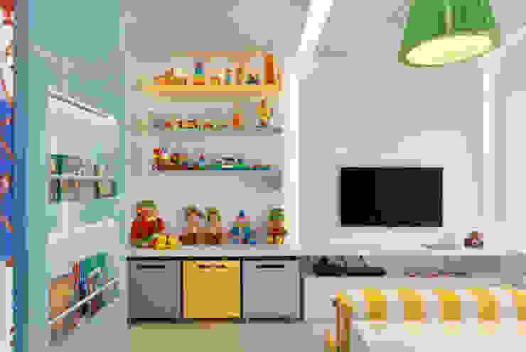 Leila Dionizios Arquitetura e Luminotécnica Dormitorios infantiles modernos: