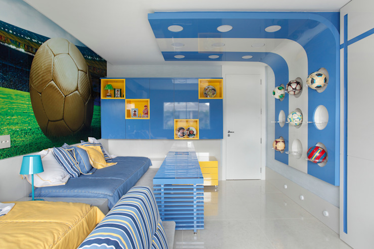 Dormitorios infantiles de estilo  de Leila Dionizios Arquitetura e Luminotécnica