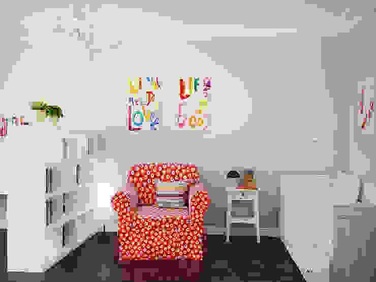 Лофт в петербургском стиле Детские комната в эклектичном стиле от Студия дизайна интерьера Маши Марченко Эклектичный