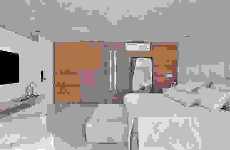 Arquitetura Residencial | Casa de luxo na Barra da Tijuca Quartos modernos por Leila Dionizios Arquitetura e Luminotécnica Moderno