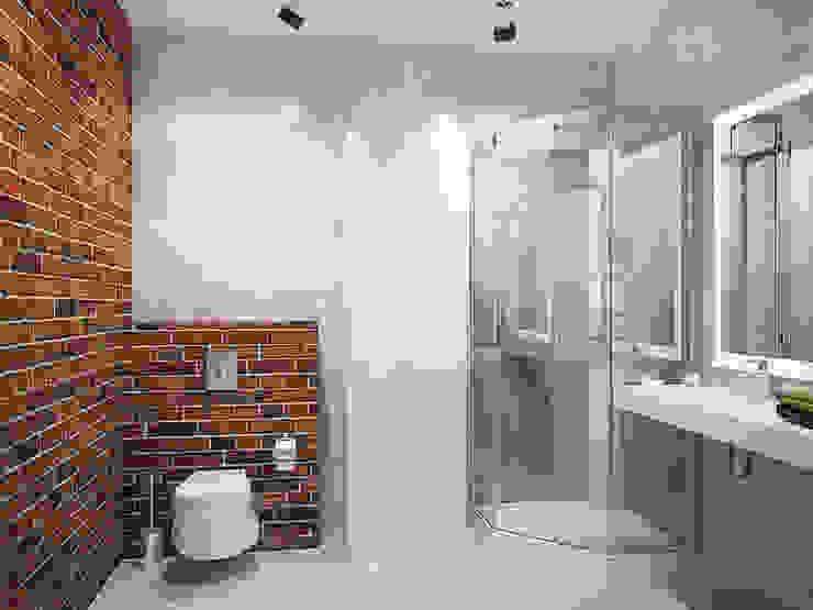 Лофт в петербургском стиле Ванная в стиле лофт от Студия дизайна интерьера Маши Марченко Лофт