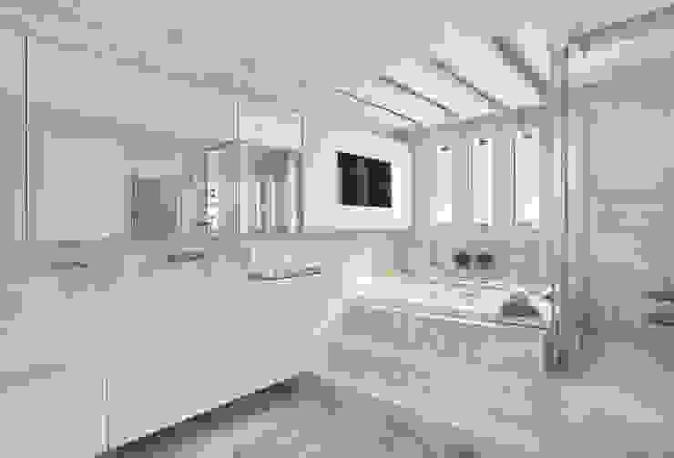 Modern bathroom by Leila Dionizios Arquitetura e Luminotécnica Modern