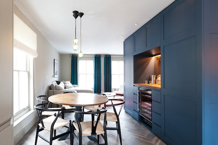 Living/Dining Room Modern Living Room by homify Modern