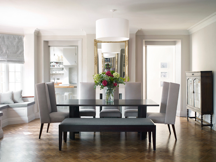 Dining Room homify Modern dining room