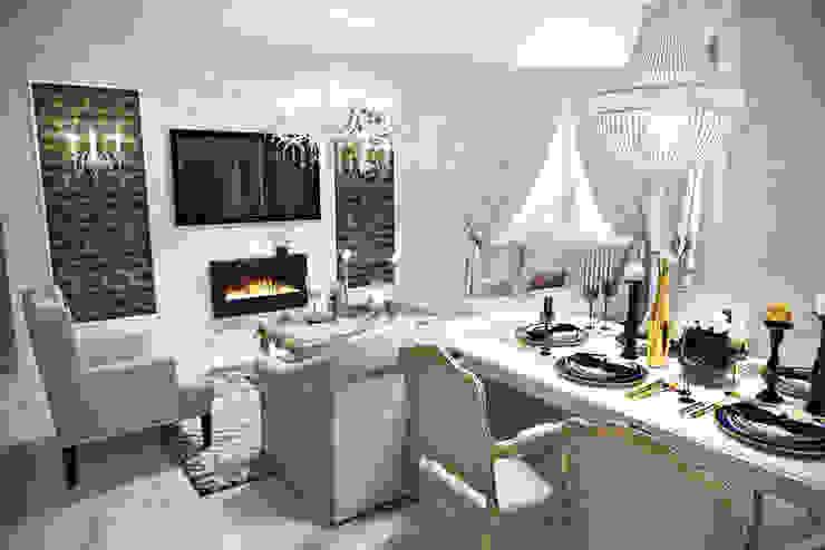 Classic style dining room by Студия дизайна интерьера Маши Марченко Classic