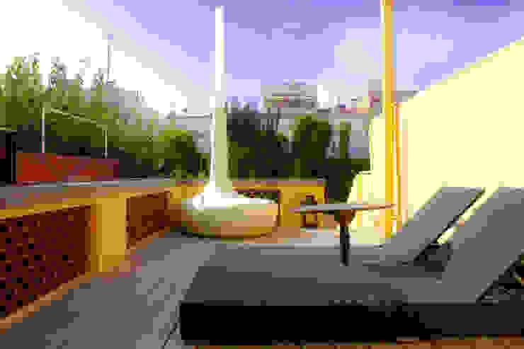 Terraza solarium Balcones y terrazas mediterráneos de CID DELTA, SA Mediterráneo
