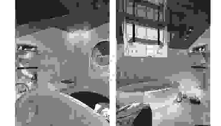 Дизайн коттеджа в коттеджном поселке «Эдельвейс» Ванная комната в стиле модерн от KV-Design Модерн