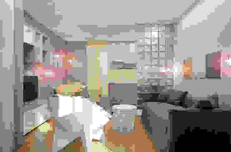 Wohnzimmer von Marina Sarkisyan, Minimalistisch