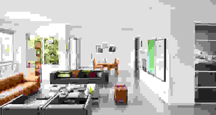 Apartamento Tobias Salas de estar modernas por SAO Arquitetura Moderno